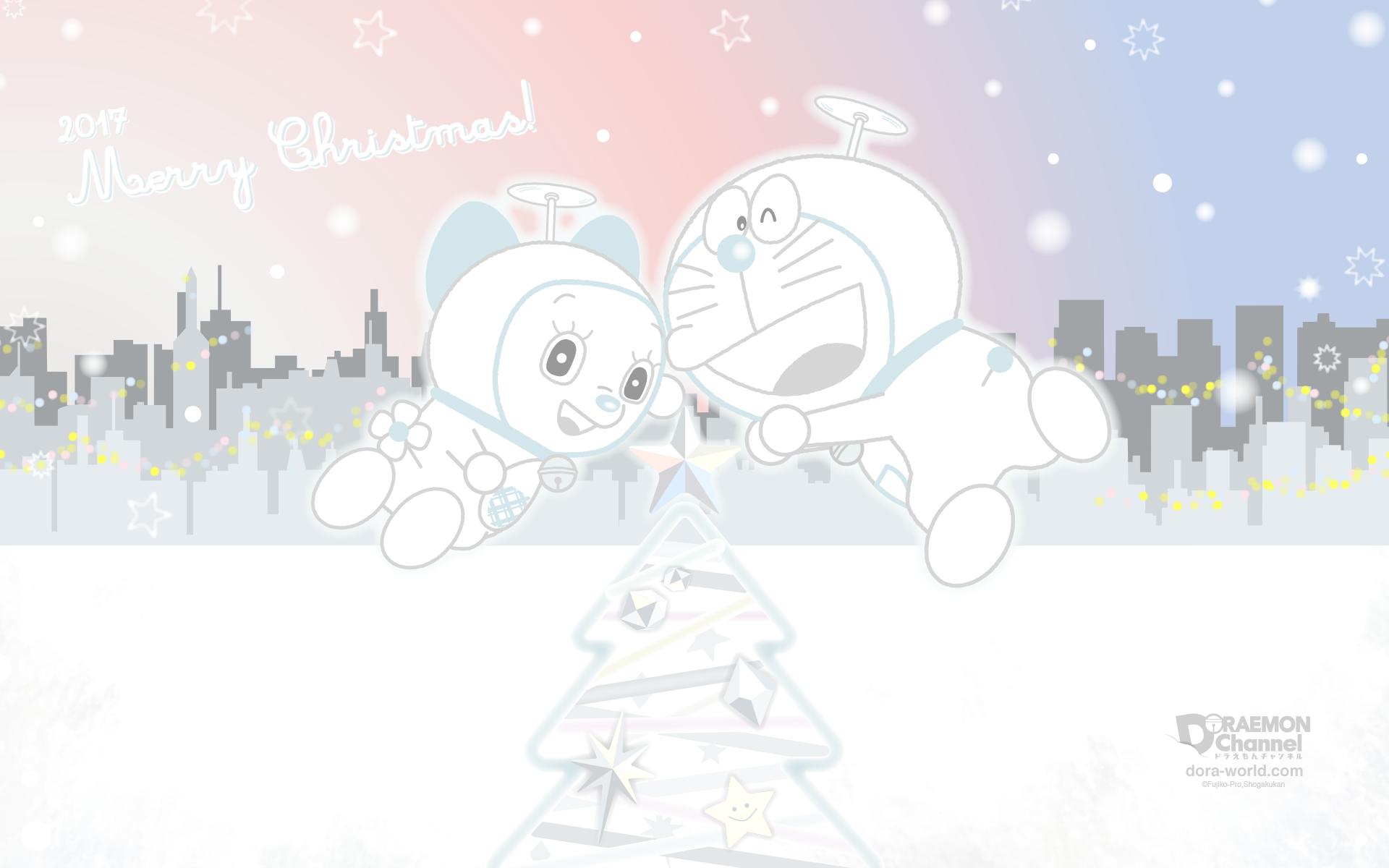 クリスマスのドラえもん壁紙